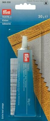 Prym textile adhesive 30g for fabrics and leather