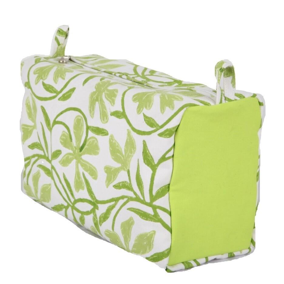 KnitPro project bag Joy green / white L2