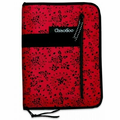 ChiaoGoo case for tunisian crochet hooks, cables and accessories