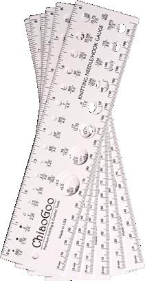 ChiaoGoo Nadelschablone / Handmaß 20cm