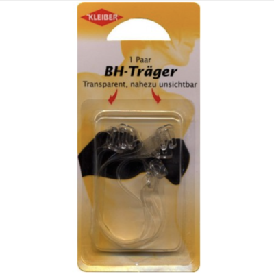 Kleiber transparent strap holder for bras, dresses, tops