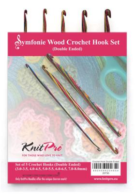 KnitPro Symfonie double-ended crochet hooks kit