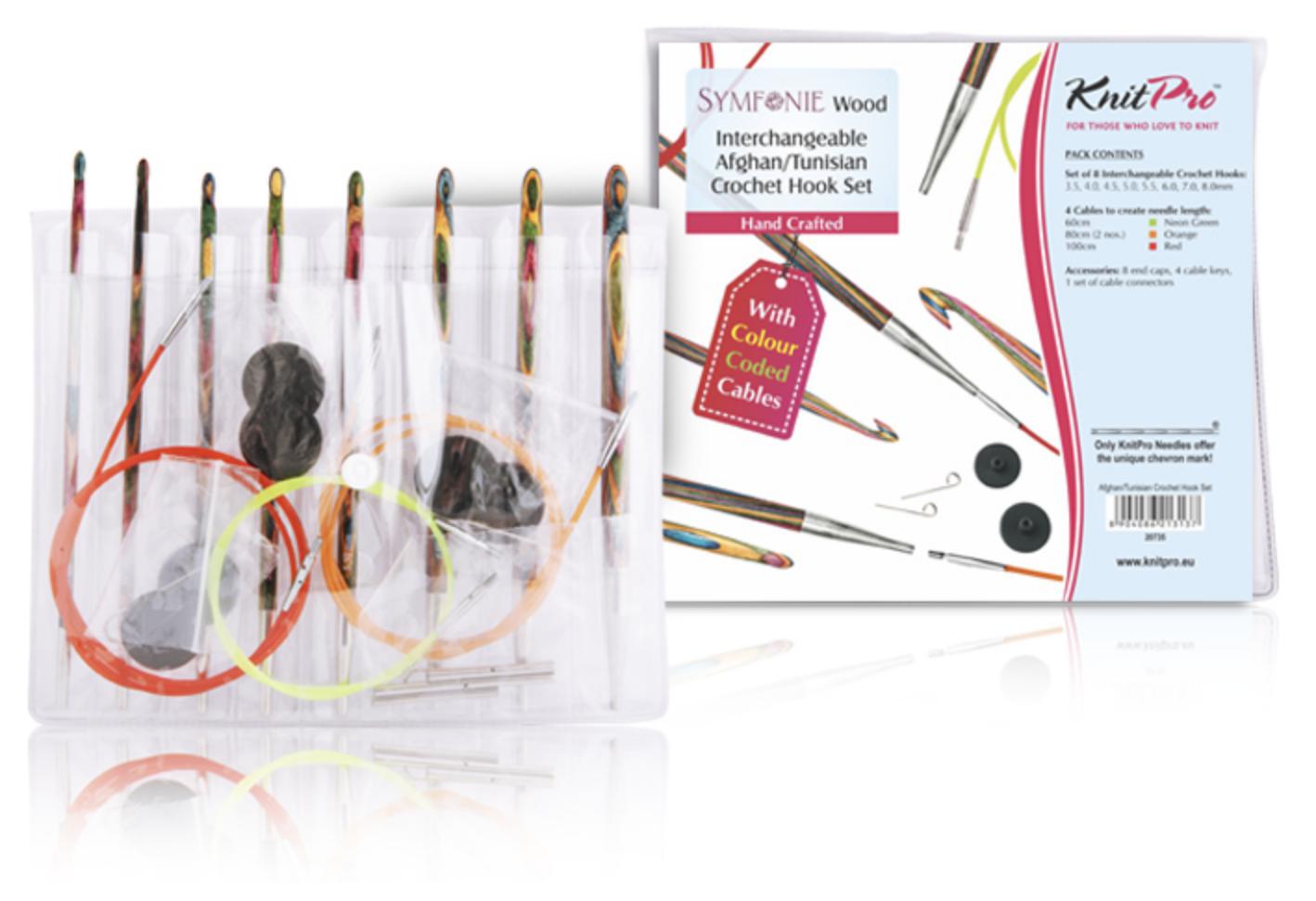KnitPro Symfonie tunisian crochet set
