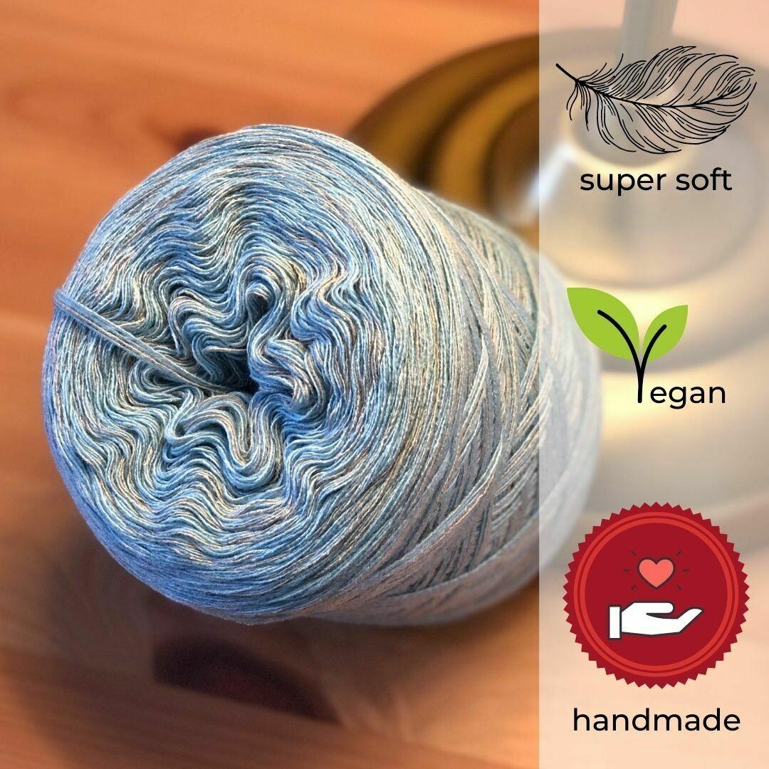 Woolpedia® Colors Winterzauber gradient yarncake (cotton-mix)