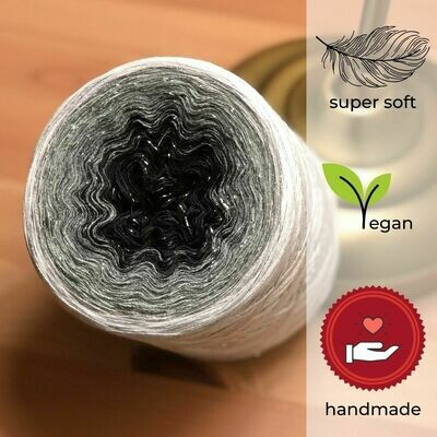 Woolpedia® Colors Erlkönig glitter gradient yarncake (cotton-mix)