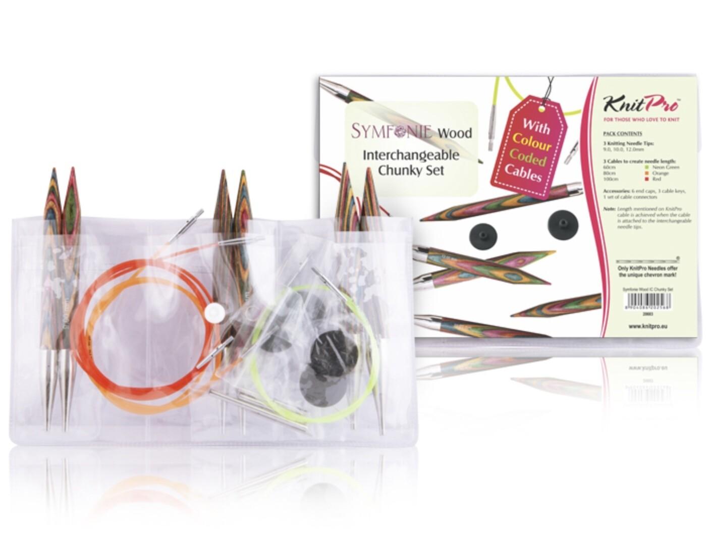 KnitPro Symfonie Chunky kit - interchangeable circulars