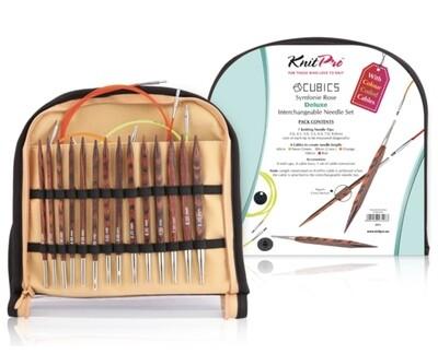 KnitPro Symfonie Cubics Deluxe kit - interchangeable circulars