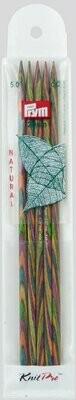 Prym / KnitPro Natural double-pointed knitting needles 20cm