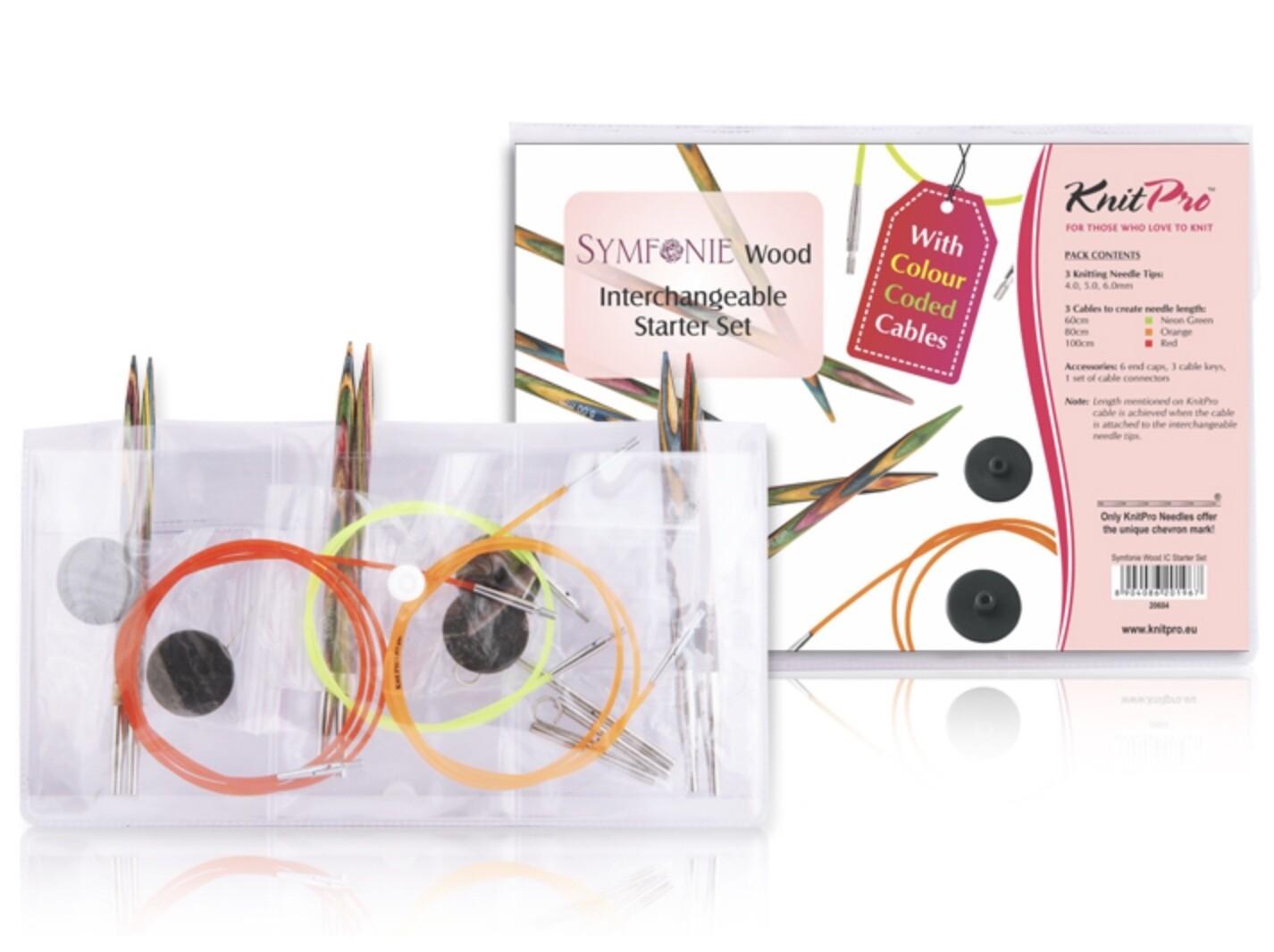 KnitPro Symfonie Starter kit - interchangeable circulars