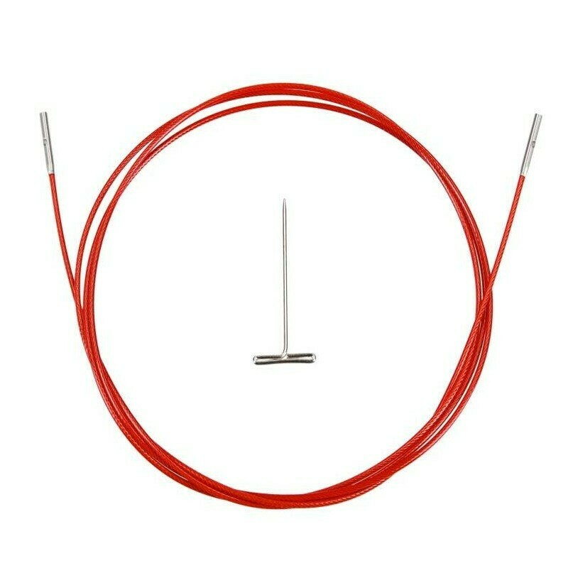 ChiaoGoo cable TWIST RED