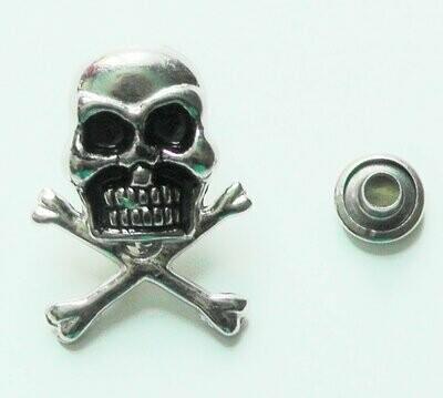 Skull button #6