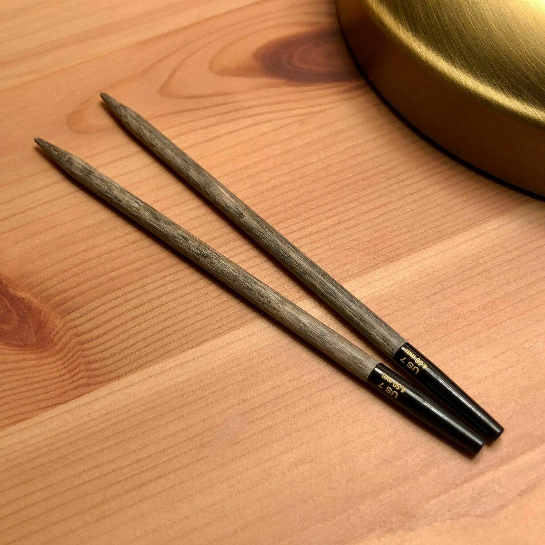 Lykke Driftwood 2 knitting needle tips