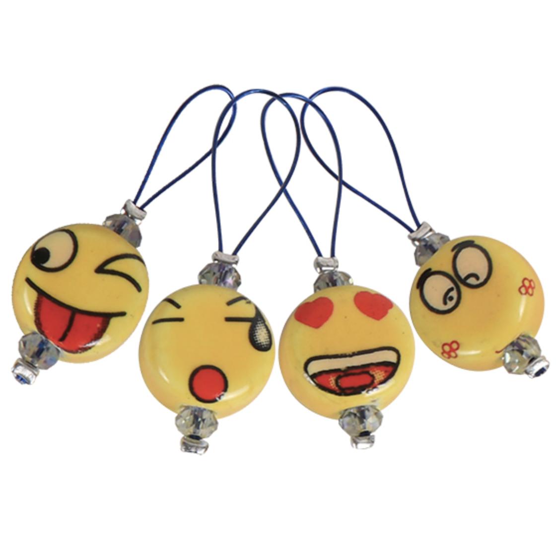 KnitPro 12 pieces stitch markers Smileys