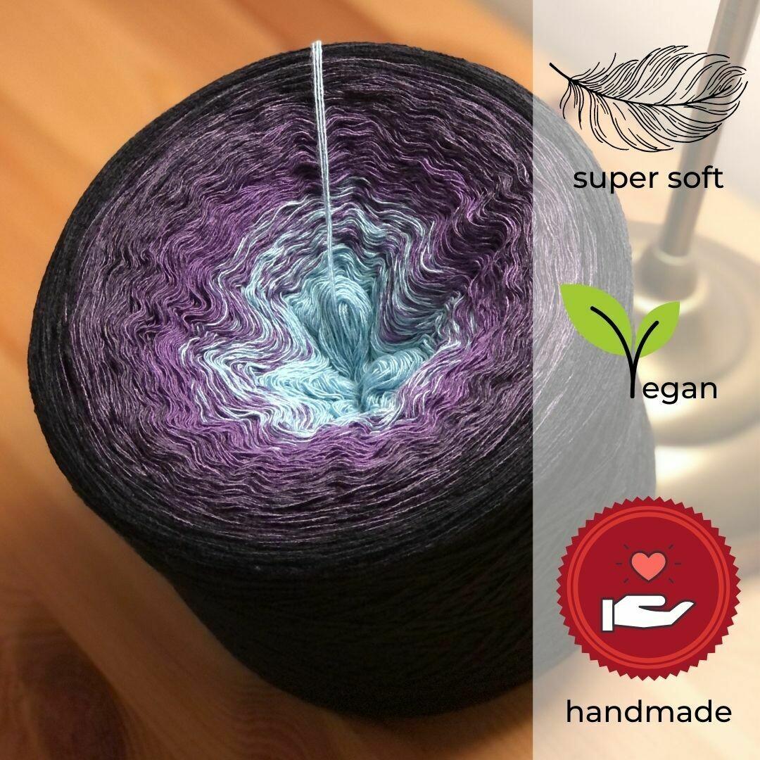 Woolpedia® Colors Vollmond gradient yarncake (modal)