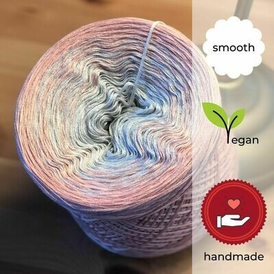 Woolpedia® Colors Peach gradient yarncake (cotton-mix)