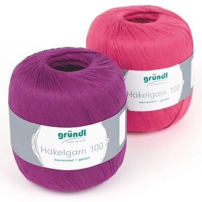 Gründl crochet yarn 100 100g