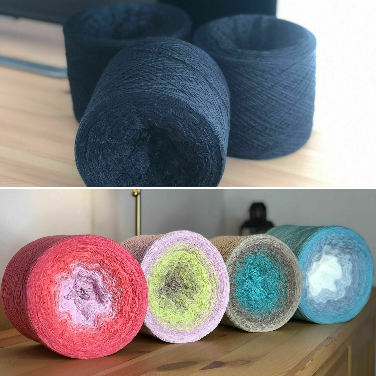 Woolpedia® Colors Sound of the Ocean - Komplett-Set - (Modal) Lace - 2fach 20100m