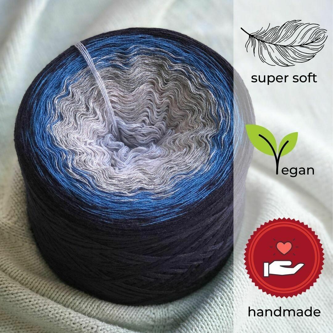 Woolpedia® Colors Kattegat Farbverlaufsgarn (Modal)
