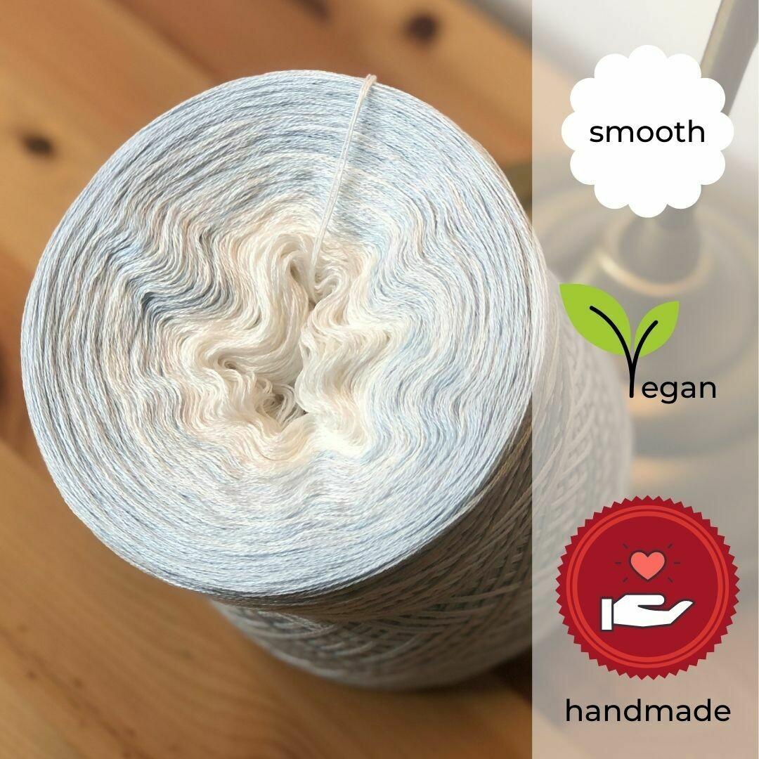 Woolpedia® Colors Eiszeit gradient yarncake (cotton-mix)