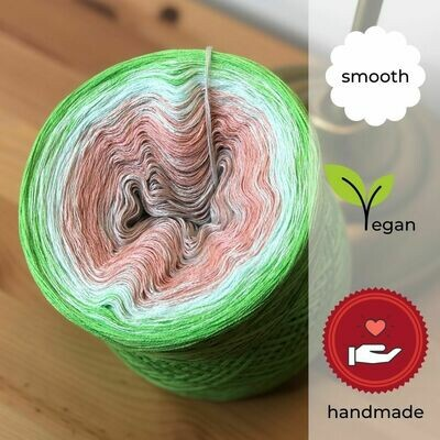 Woolpedia® Colors Bamboo Forest gradient yarncake (cotton-mix)