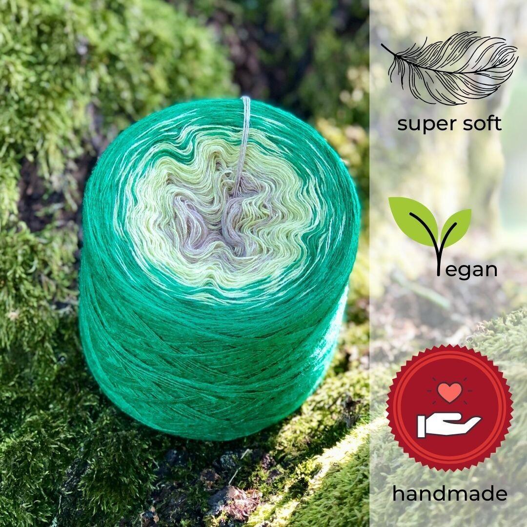 Woolpedia® Colors Frühlingsanfang Farbverlaufsgarn (Modal)