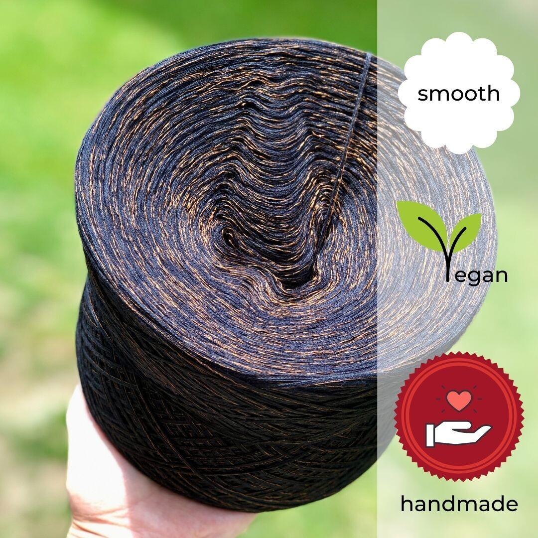Woolpedia® Colors Black Pearl Designer yarn (cotton-mix)