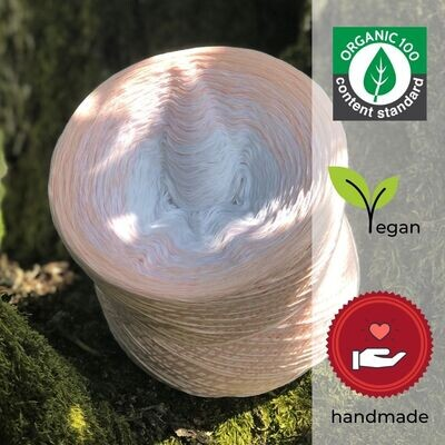 Woolpedia® Colors Julietta organic gradient yarncake (pure cotton)