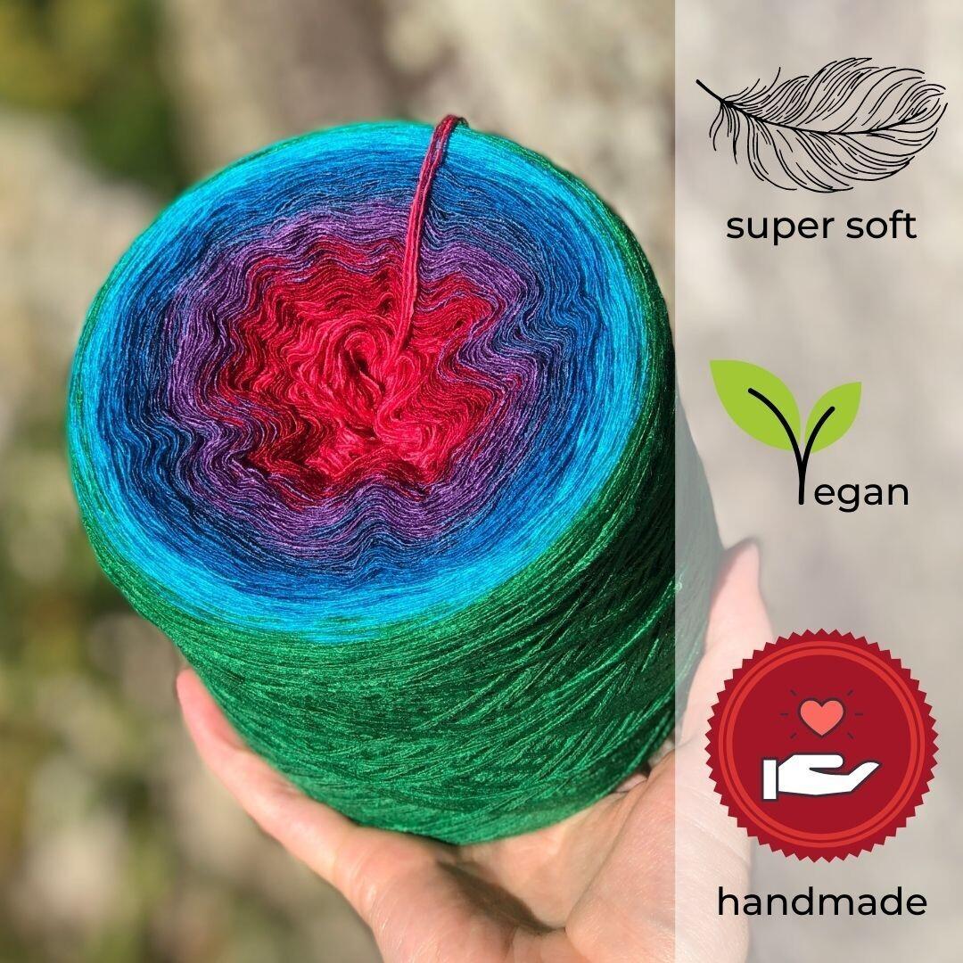 Woolpedia® Colors Sensation Farbverlaufsgarn (Modal)