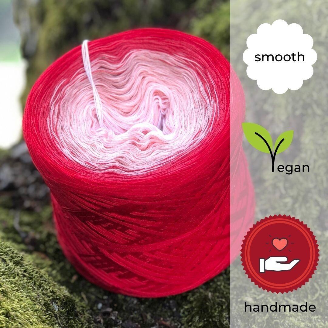 Woolpedia® Colors Rotkäppchen gradient yarncake (cotton-mix)