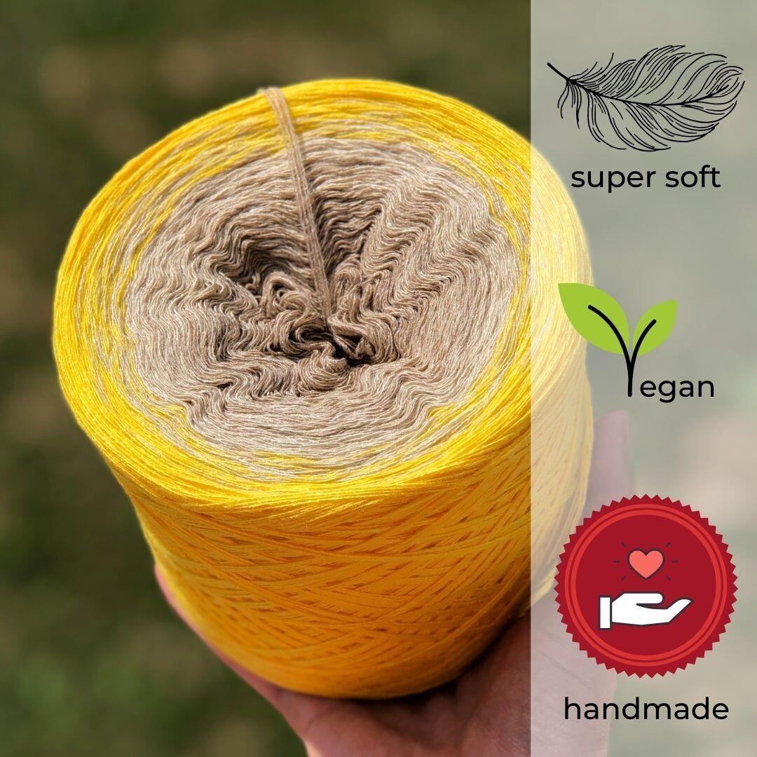 Woolpedia® Colors Lemon Tree Farbverlaufsgarn (Modal)