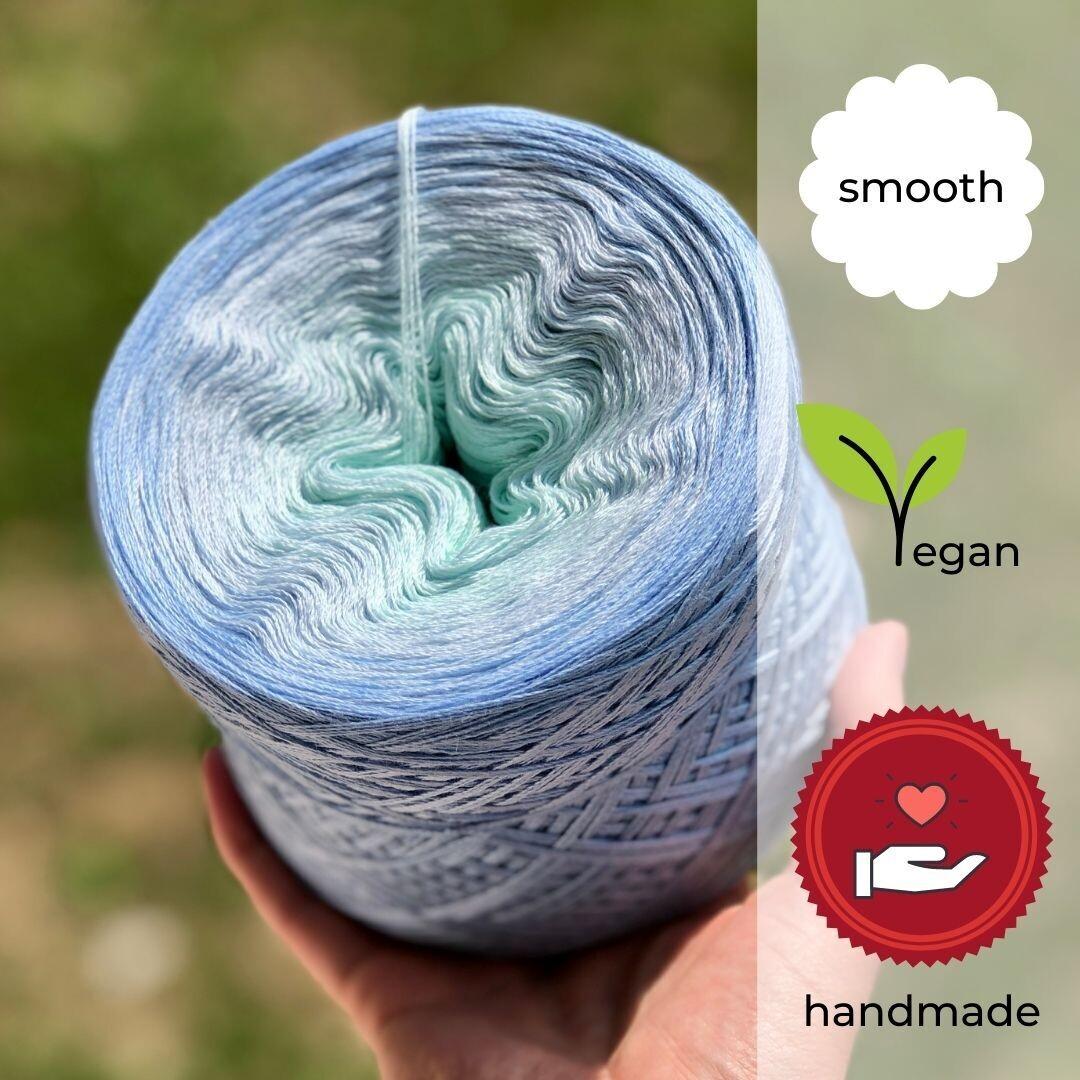 Woolpedia® Colors Enzian yarncake (cotton-mix)