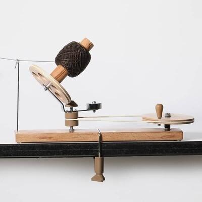 KnitPro wooden yarn winder - Natural