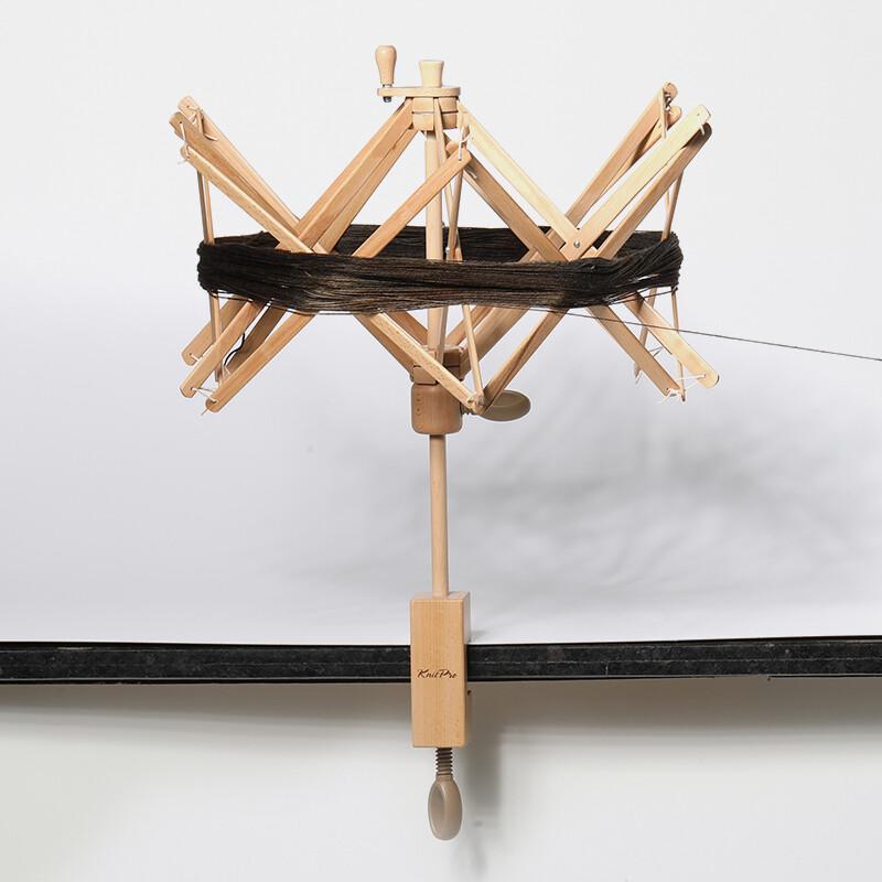 KnitPro wooden yarn swift - Natural