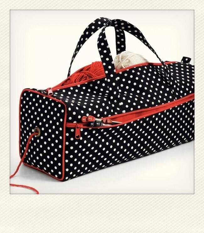 Prym Polka Dots project bag