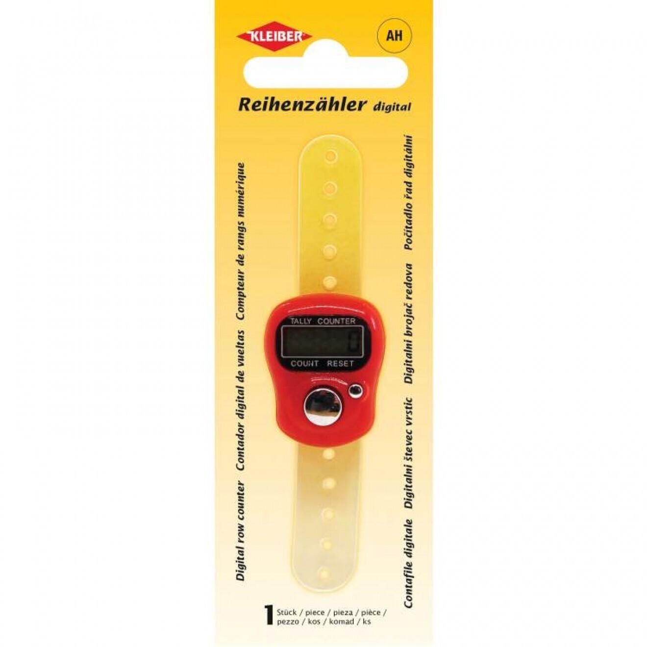 Kleiber digital row counter
