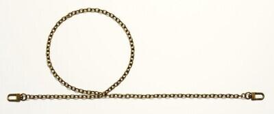 Prym Leandra - bag handle antique brass colored