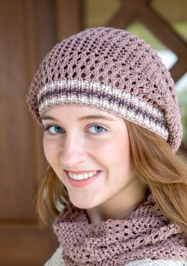 Gründl Cottonwood lace beanie - video & PDF knitting tutorial