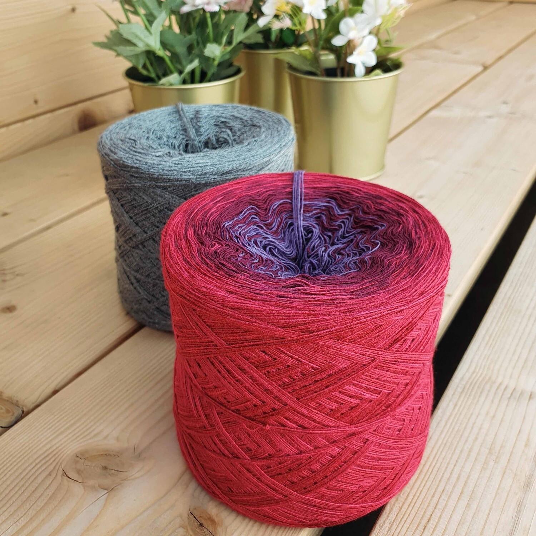 Woolpedia® Colors Lines Set Purple colorgrading yarn (cotton-mix)