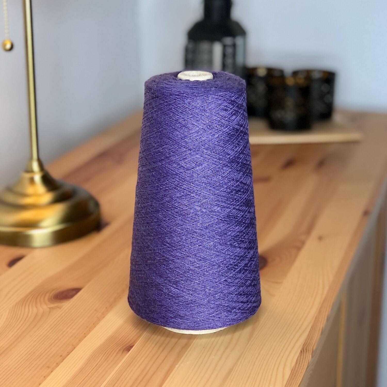 Modal cone yarn 28/2 Viola Mélange