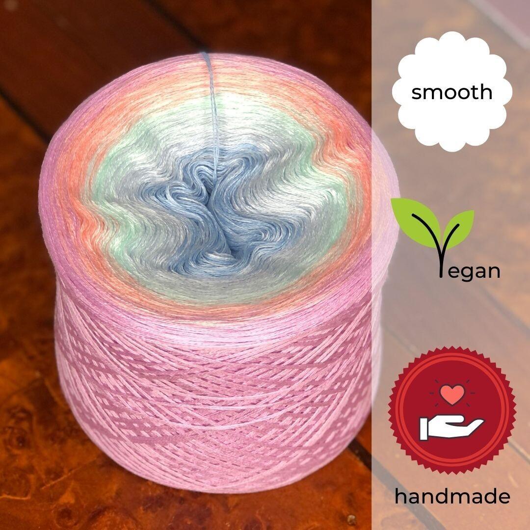 Woolpedia® Colors Kleines Einhorn gradient yarncake (cotton-mix)