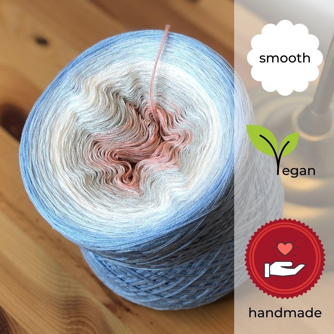 Woolpedia® Colors Brandung yarncake (cotton-mix)