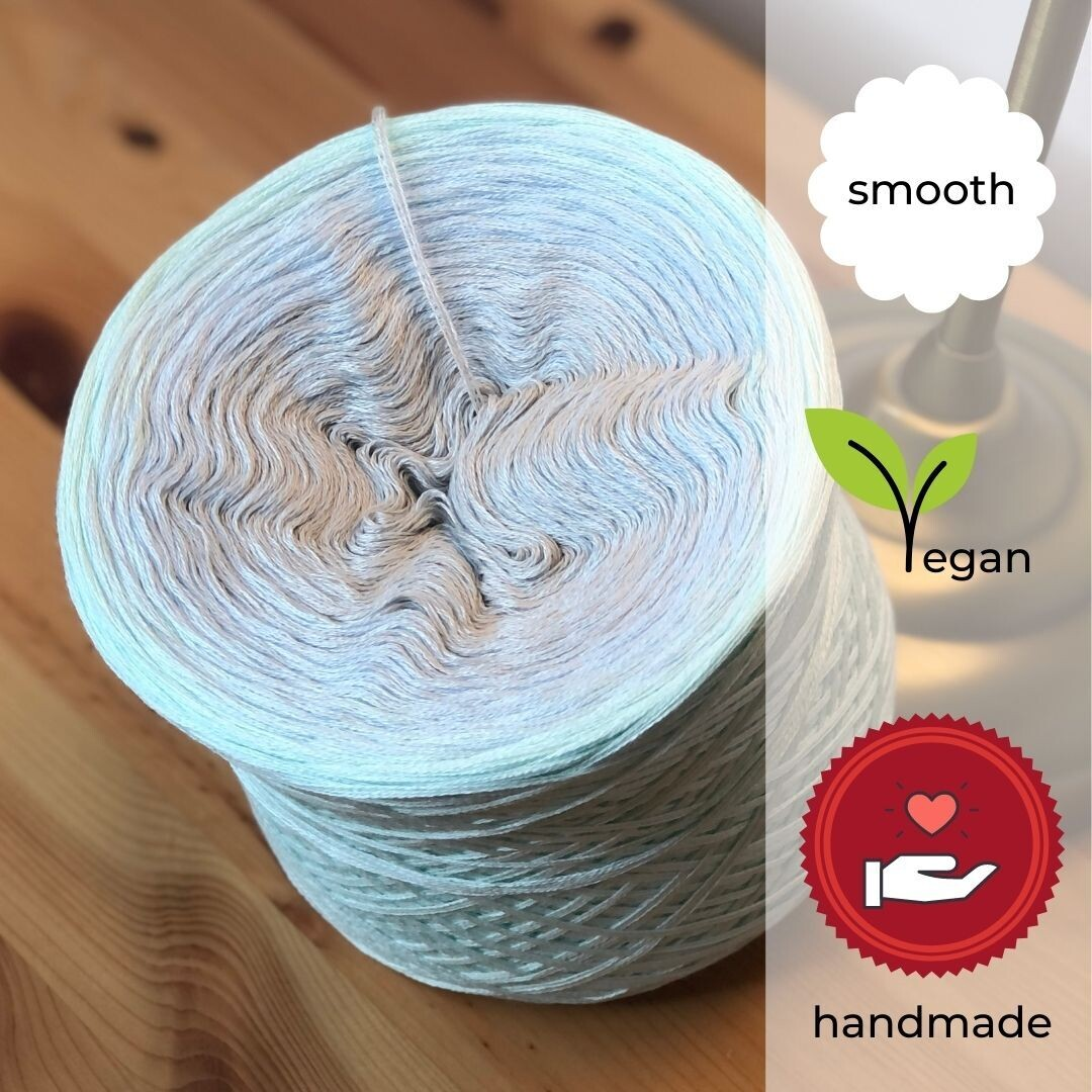 Woolpedia® Colors Atlantis gradient yarncake (cotton-mix)