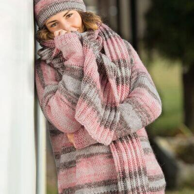 Gründl Mohana cosy sweater PDF knitting tutorial