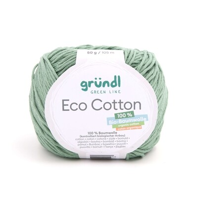 Gründl Eco Cotton (100% organic cotton) 50g