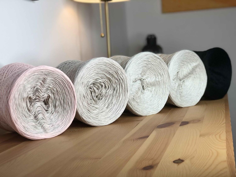 Woolpedia® Colors Blocks 5000m yarncake kit (organic cotton)