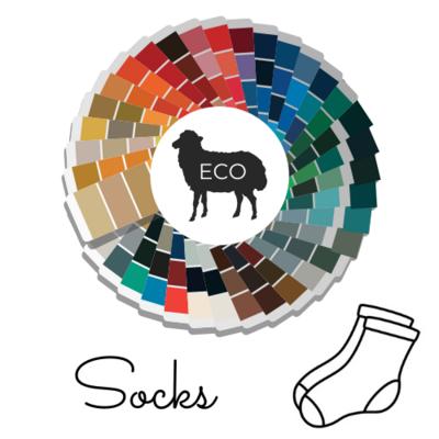 Woolpedia® Socks Custom - organic gradient sock yarn (Merino extra fine)