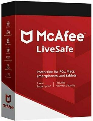 McAfee LiveSafe For 6 month
