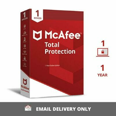 McAfee Total Protection For 6 month