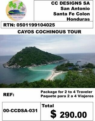 CAYOS COCHINOS TOUR LARGE PACK