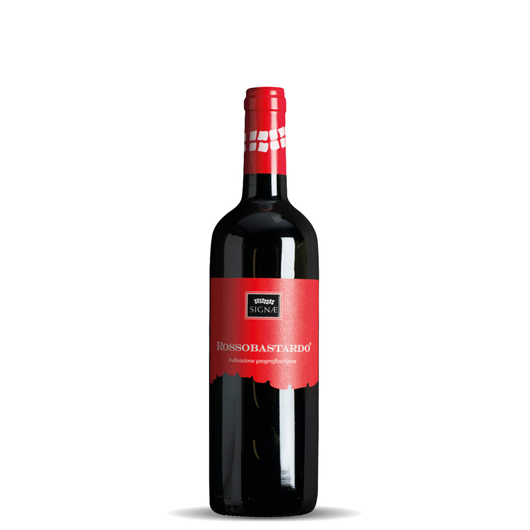 Rossobastardo IGT Umbria Red Wine 2017 - 6 bottles 0,75lt